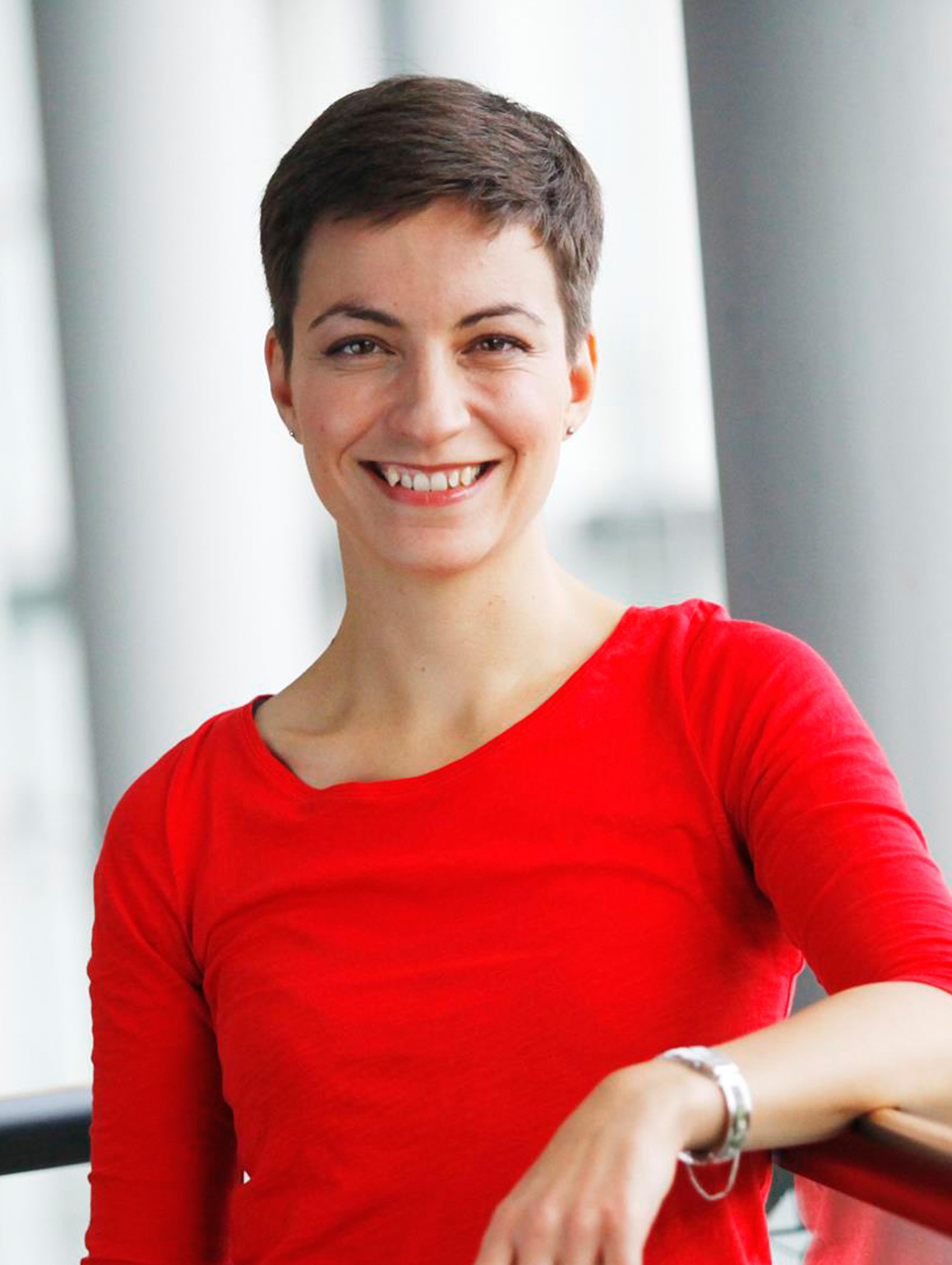 Ska Keller, Fraktionsvorsitzende der Grünen/EFA