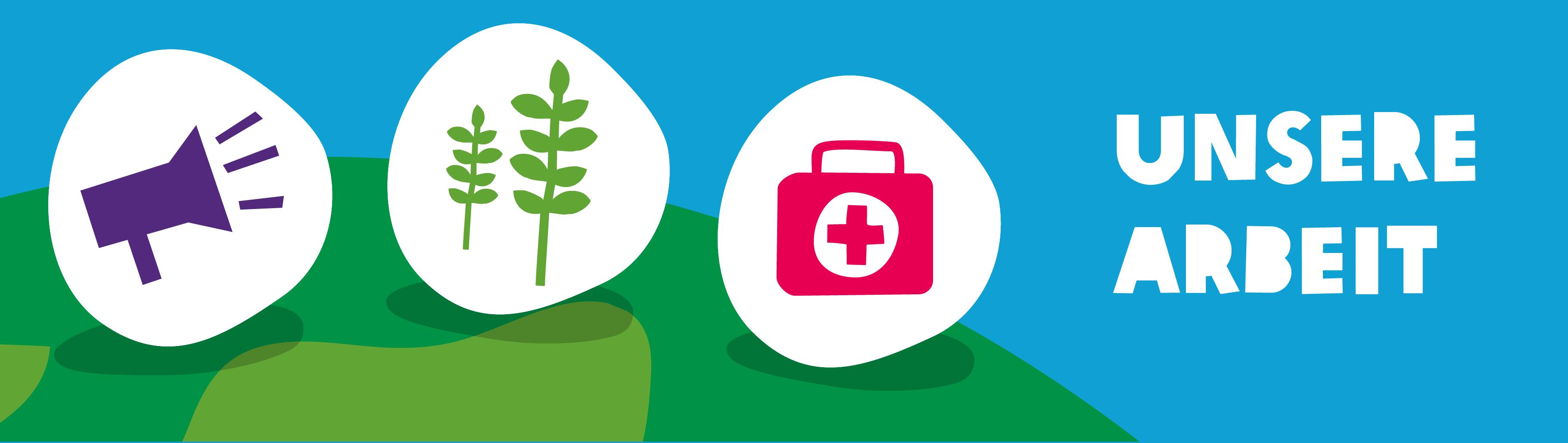 Oxfam Infografik Unsere Arbeit