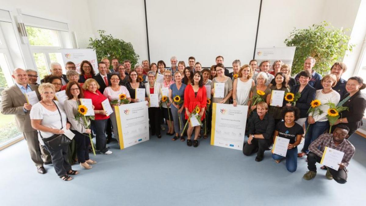 Oxfam Shops: Publikums-Abstimmung für den Deutschen Engagementpreis 2017