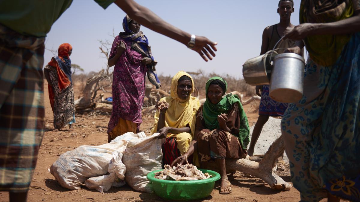 Nahrungsmitteldistribution in Äthiopien