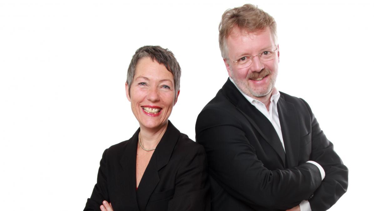 Angelika Eder und Manfred Meyer