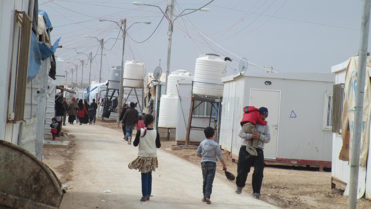 Alltag in Zaatari
