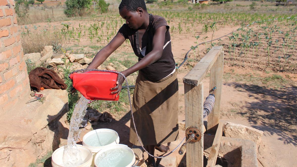 Simbabwe sauberes Wasser
