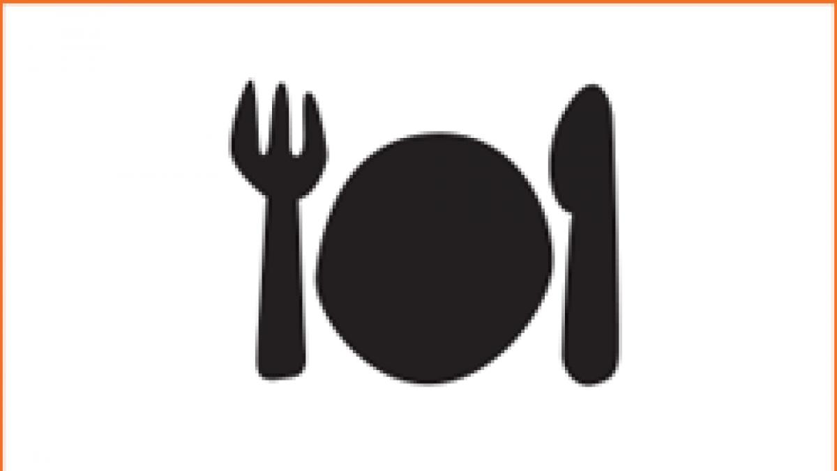 Icon Besteck und Teller