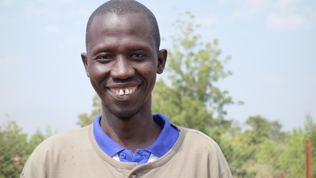 Portrait von Kaly Sidibé aus Senko auf seinem Land