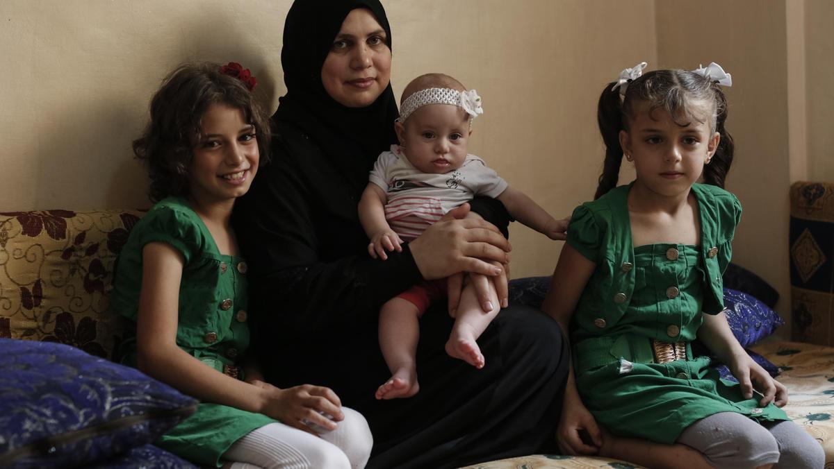 Syrische Flüchtlinge in Jordanien: Thakaa und ihre Kinder