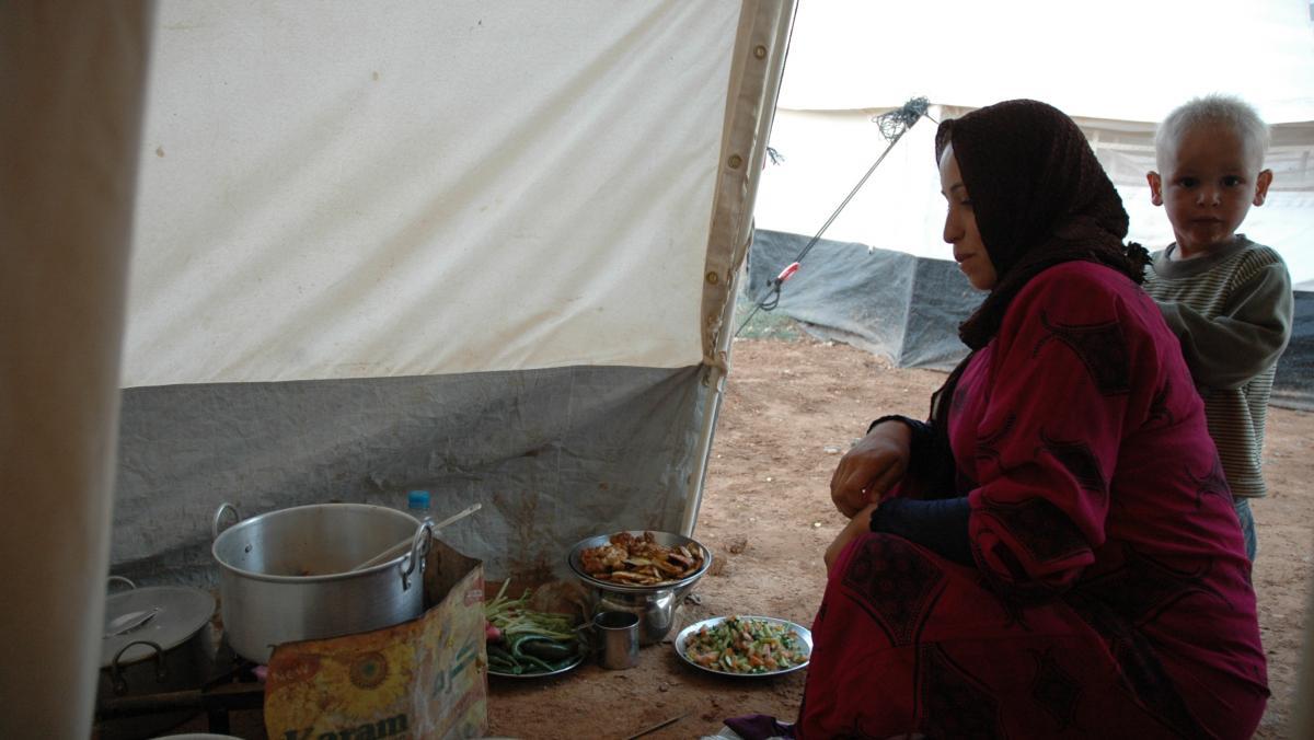 Um Ashraf ist mit ihrer Familie vor dem syrischen Bürgerkrieg nach Jordanien geflohen.