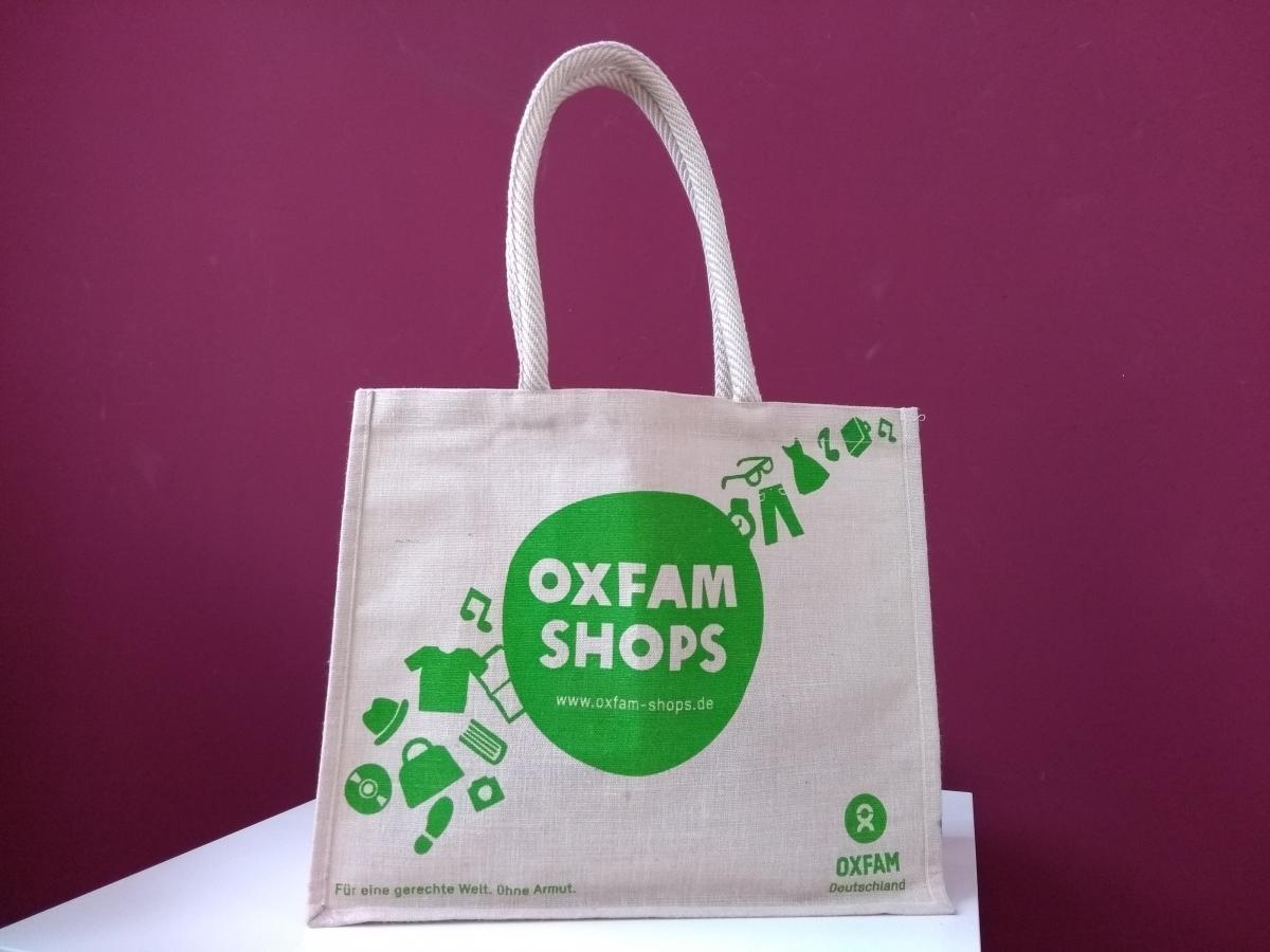 Oxfam Shops Jutetasche
