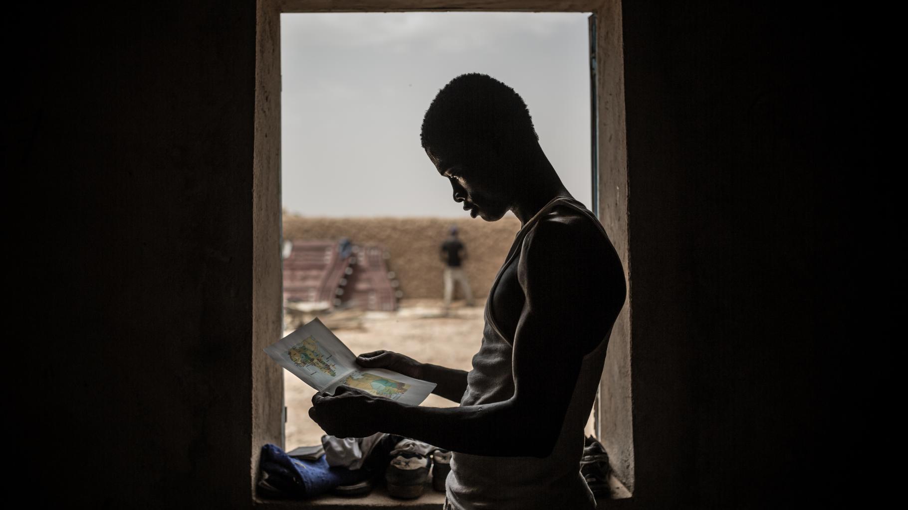 Ibrahim aus Gambia in Agadez, Niger