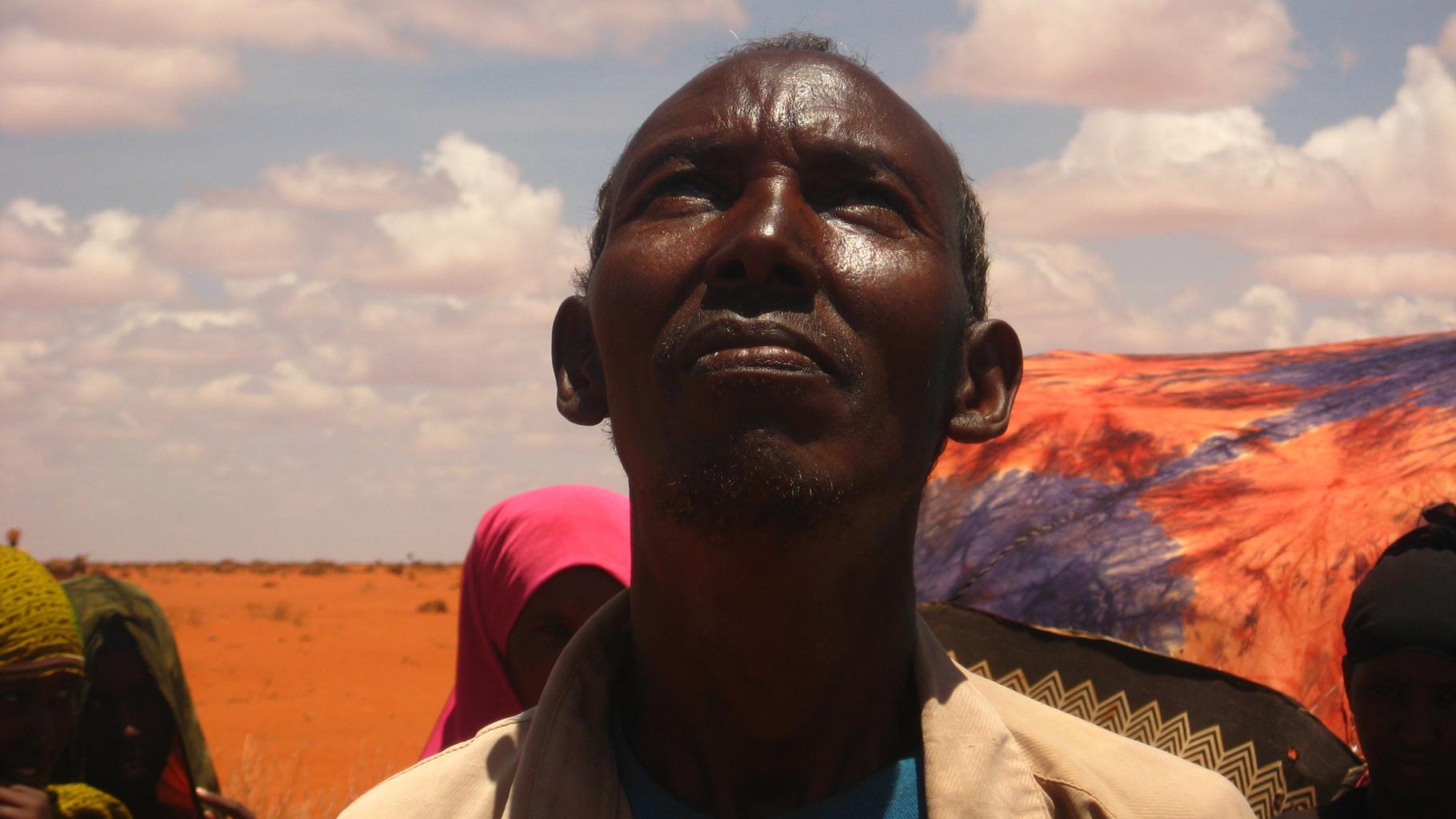 Hungerkrise und Klimawandel: Jama aus Äthiopien sucht im Himmel nach Anzeichen für Regen