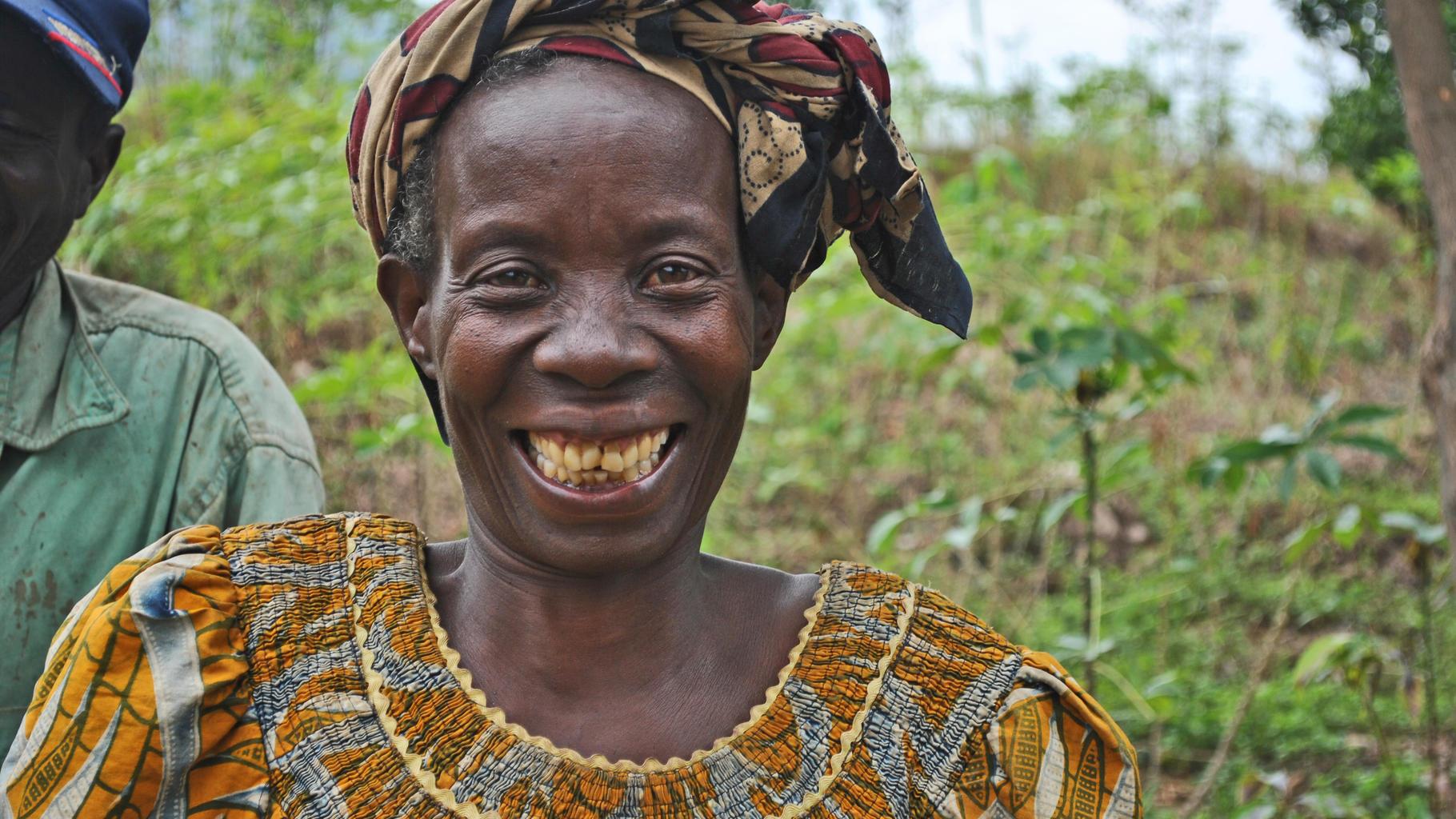 Pauline Ndayawurwa in Burundi