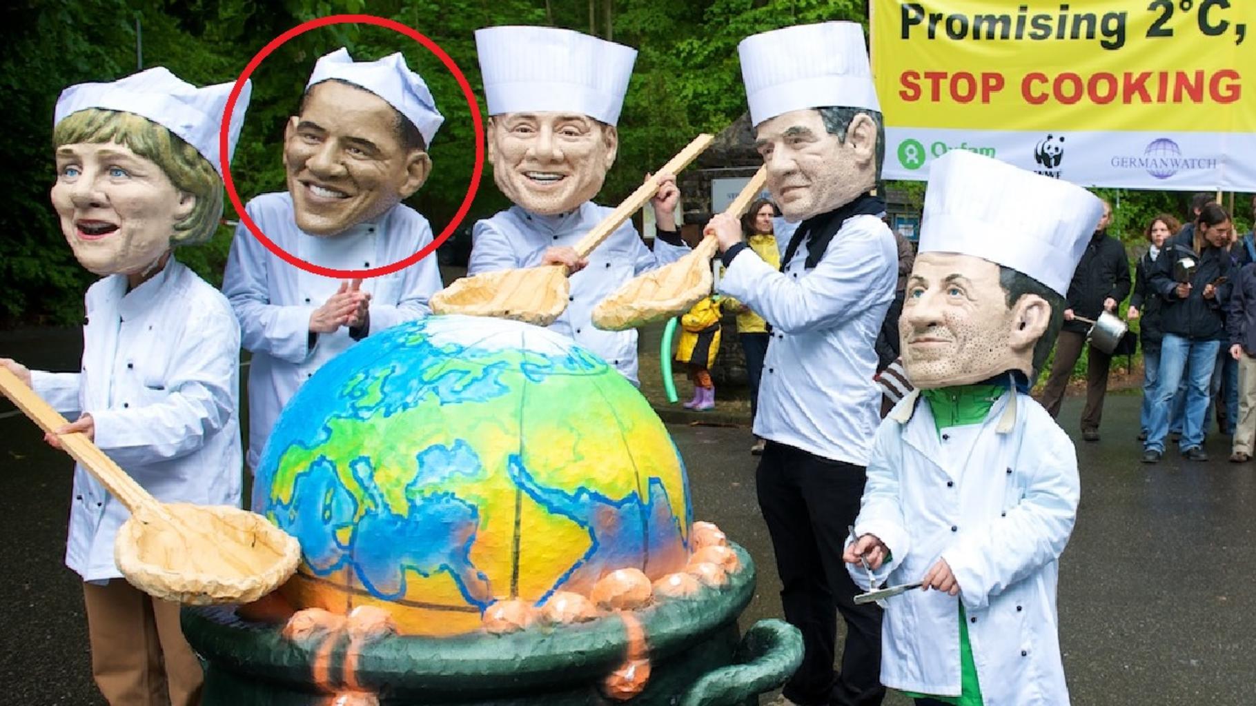 Schert Obama jetzt aus dem Kreis der Klima-Köche aus?
