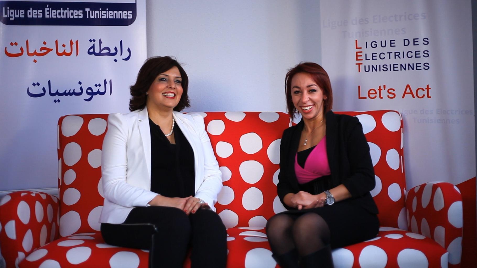 Besma Soudani (links) – Direktorin und Mitbegründerin von LET im Interview
