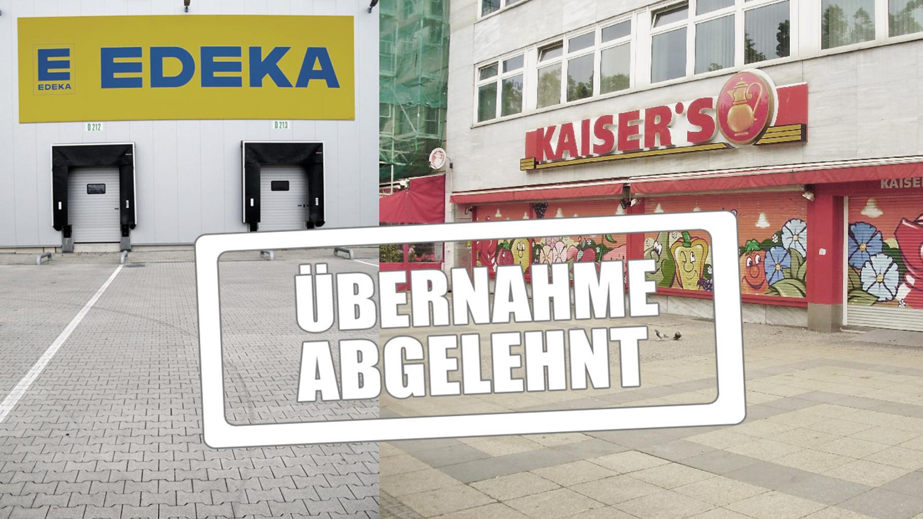 Übernahme abgeleht! Edeka-Lager und Kaiser's-Filiale