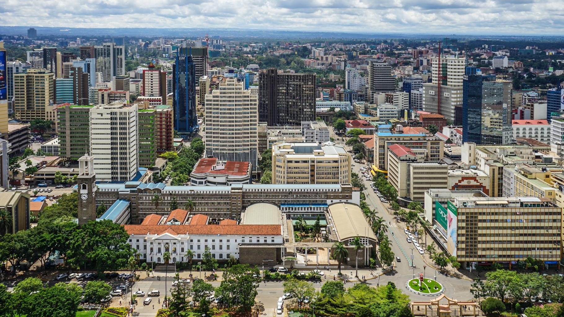 Nairobi, die Hauptstadt Kenias