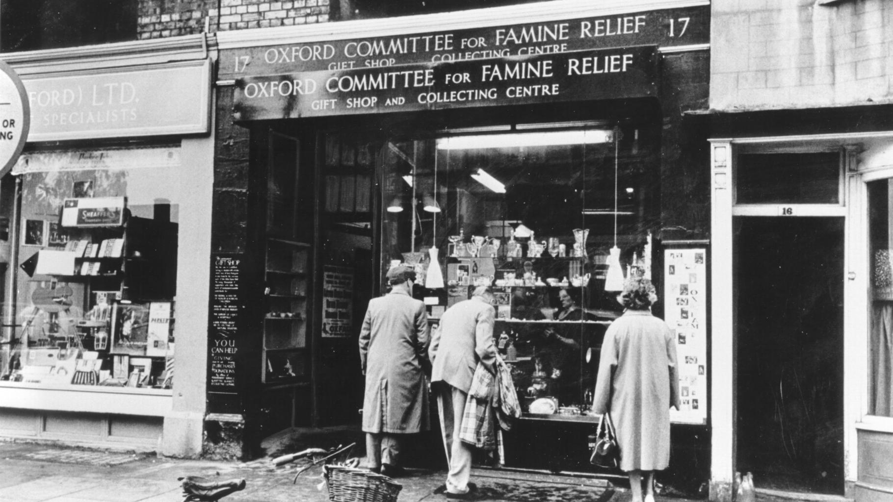 Oxfam-Shop in der Broad Street in Oxford