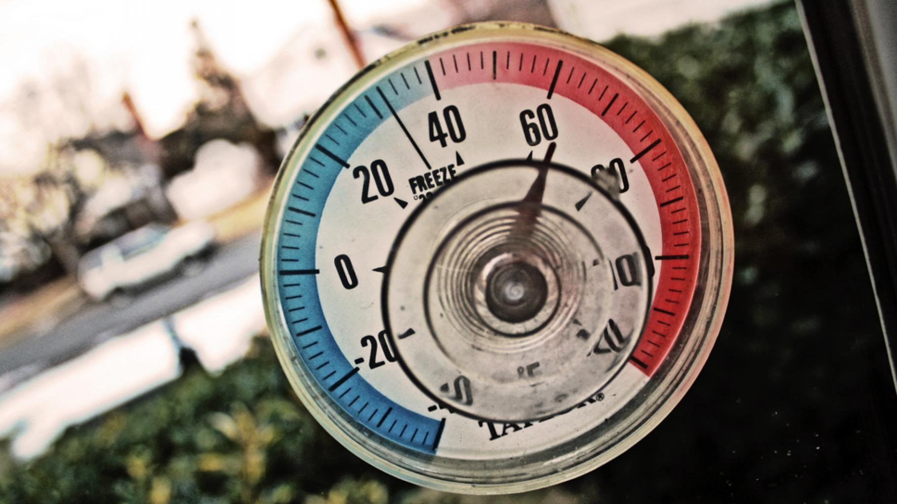 Klimawandel: Nur ein paar Grad mehr wirken tödlich.