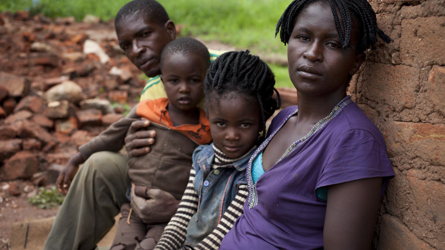 Simbabwe: Fiona und ihre Familie