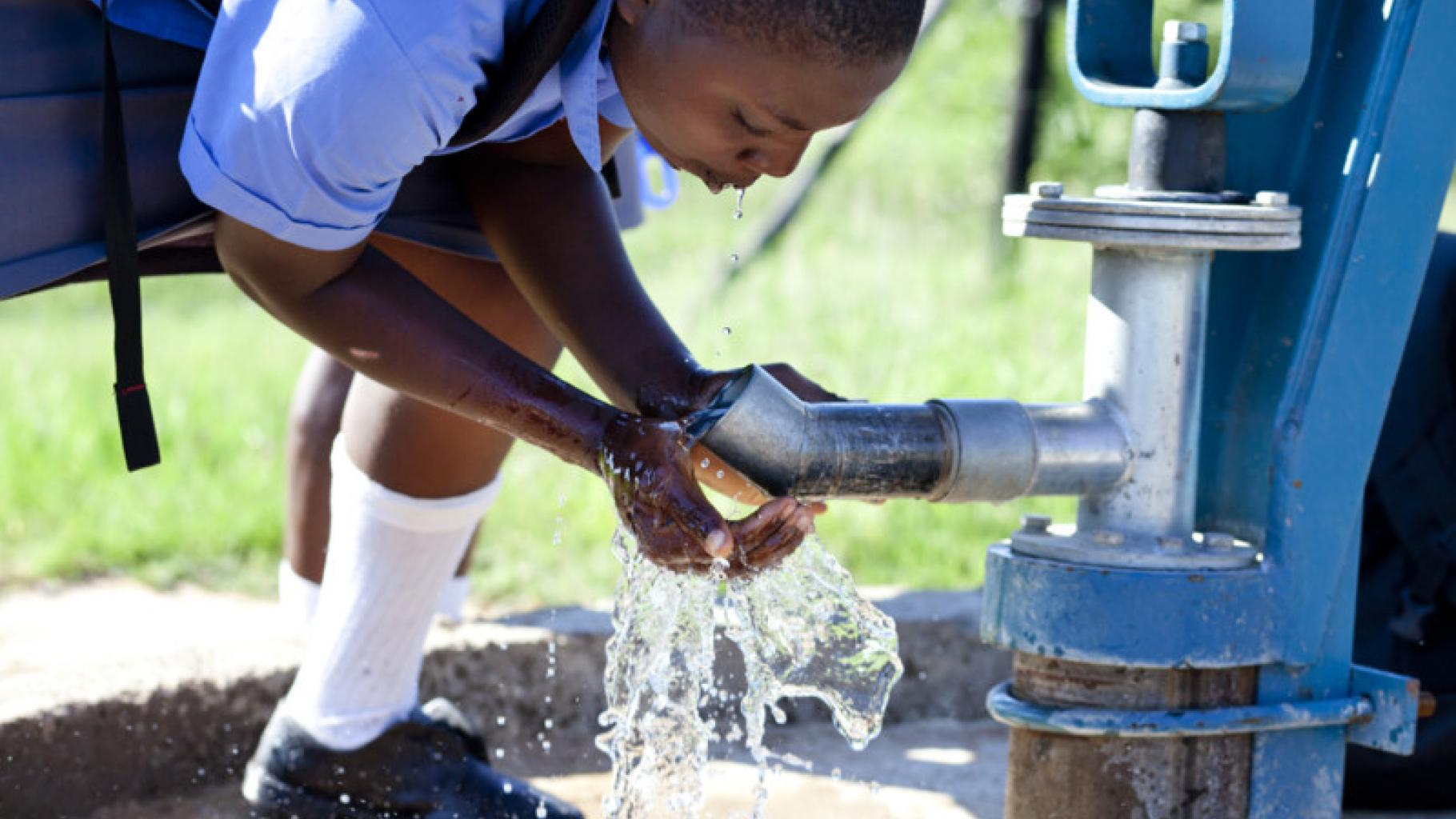 Junge in Simbabwe, Masvingo Provinz