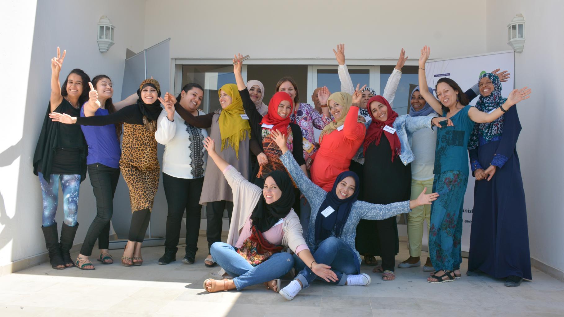 Teilnehmerinnen des LET-Mentoring-Programms.