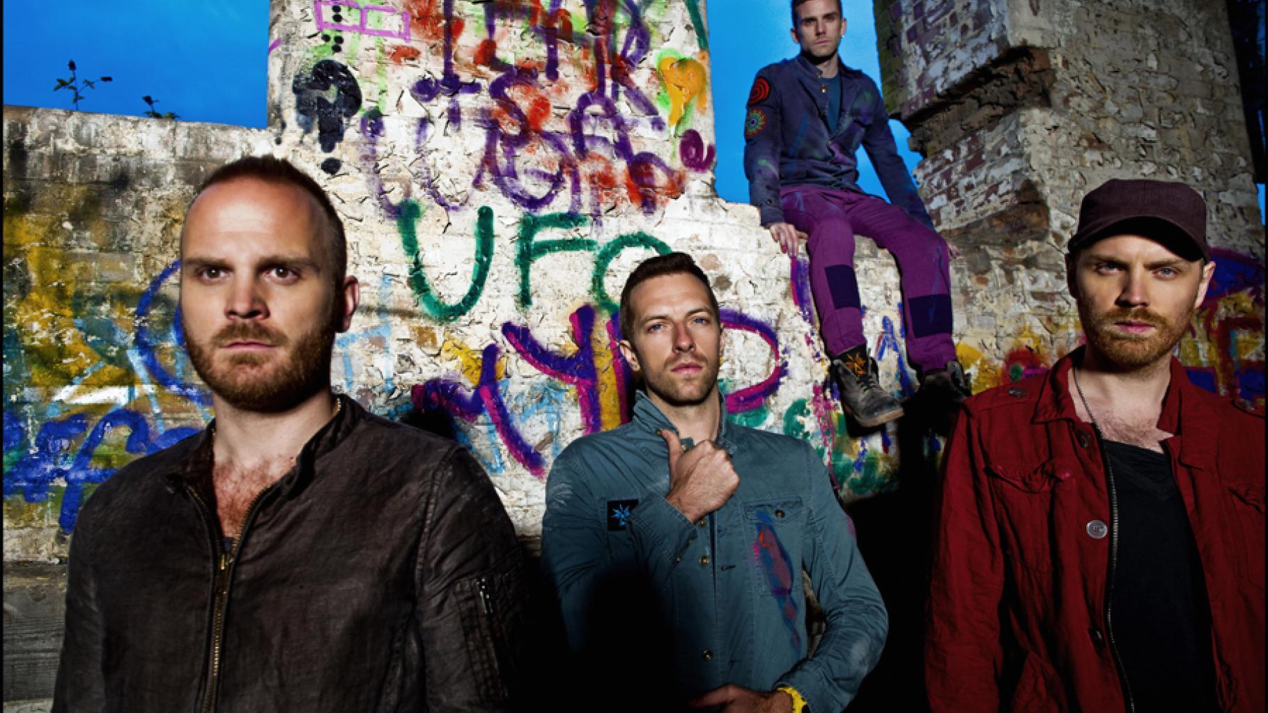 Die Band Coldplay unterstützt Oxfam seit vielen Jahren