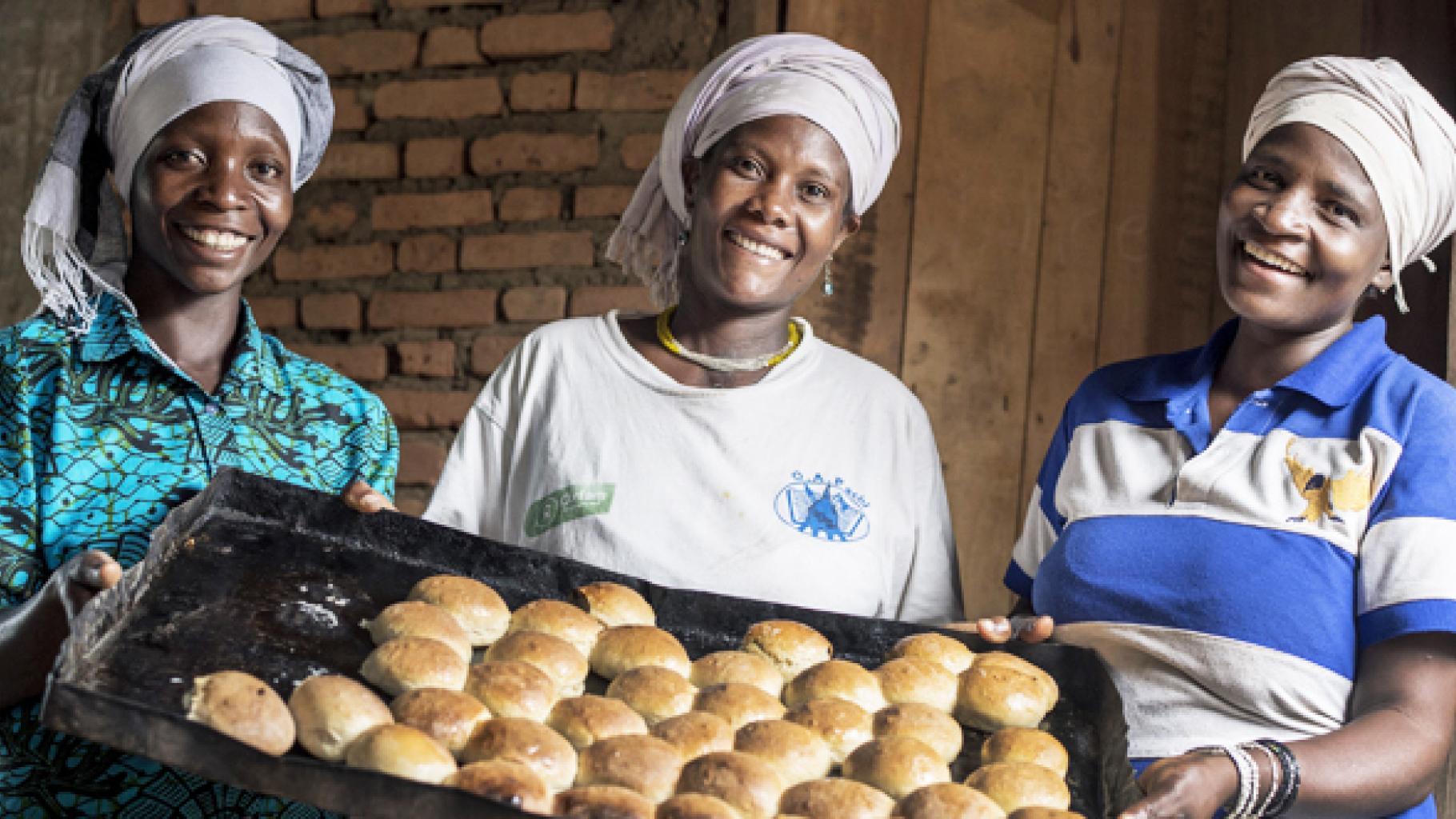 Bäckerei in Burundi