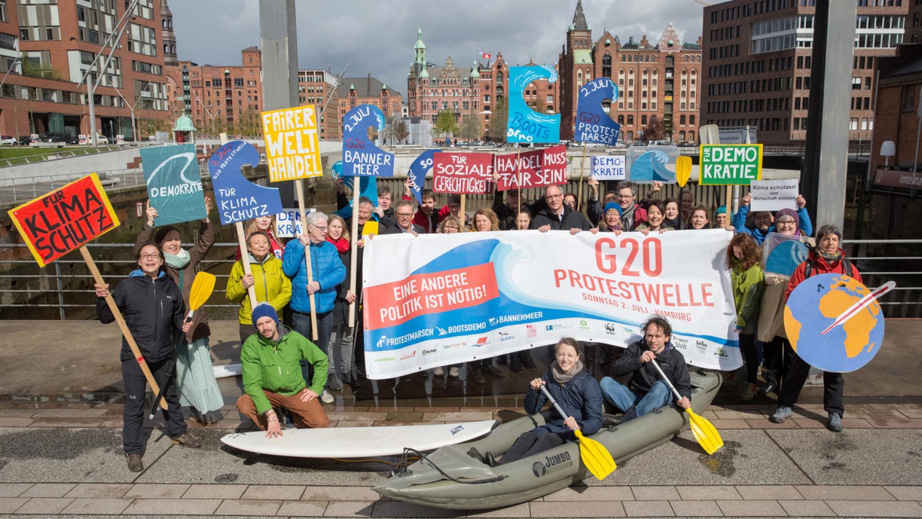 G20-Protestwelle: Eine andere Politik ist nötig!