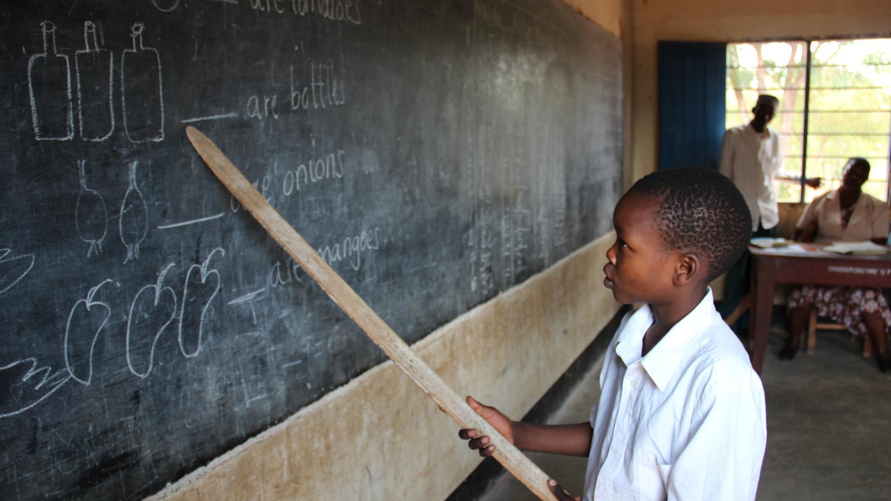 Trotz Bildungsoffensive verlassen viele Kinder die Schule, ohne lesen und schrei
