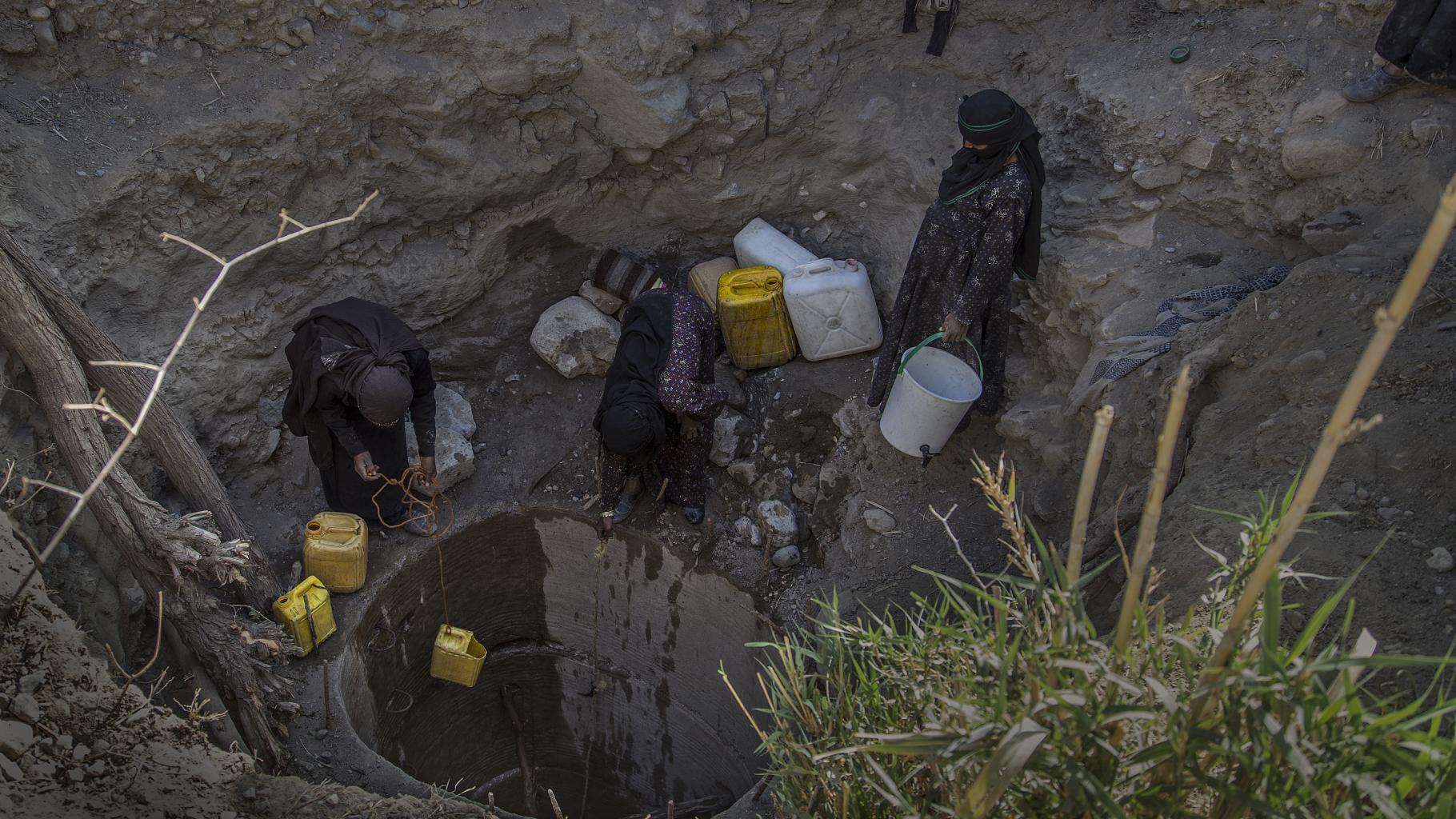Wasserquelle im Jemen