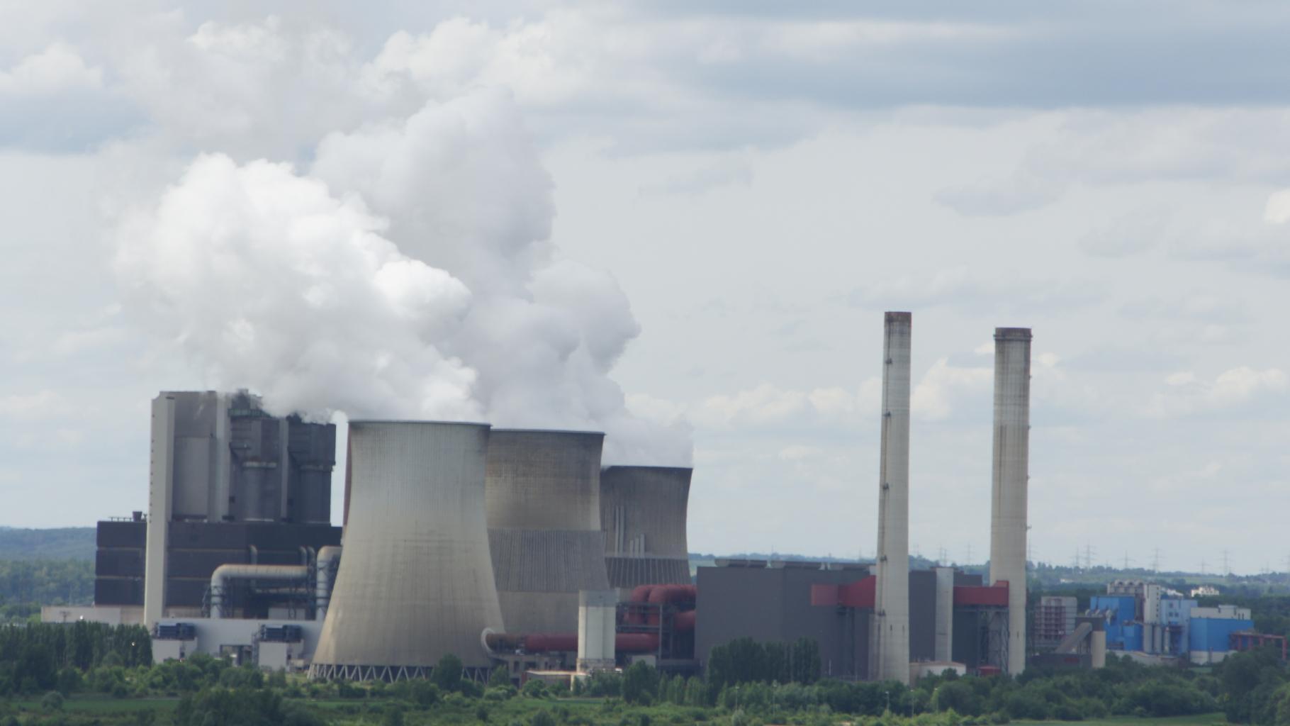Kohlekraftwerk in Weisweiler - Kohleausstieg Deutschland