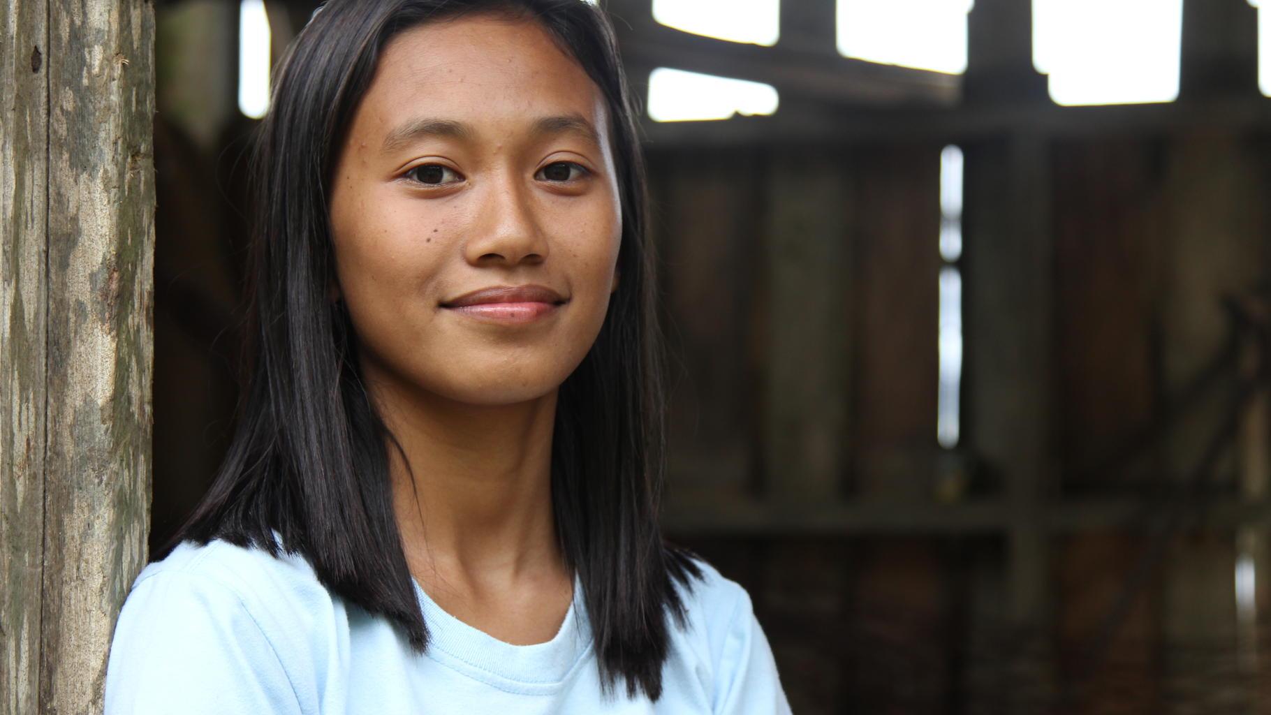 Langging in ihrem Heimatdorf Bagumbayan auf den Philippinen