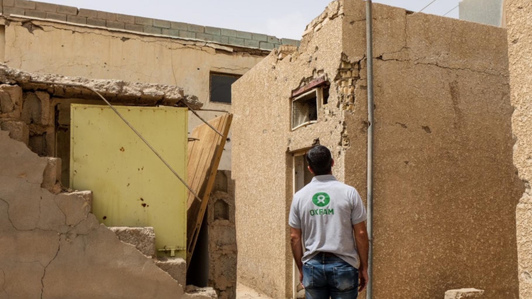 Das Gesundheitzentrum in Hit in der Provinz Al-Anbar