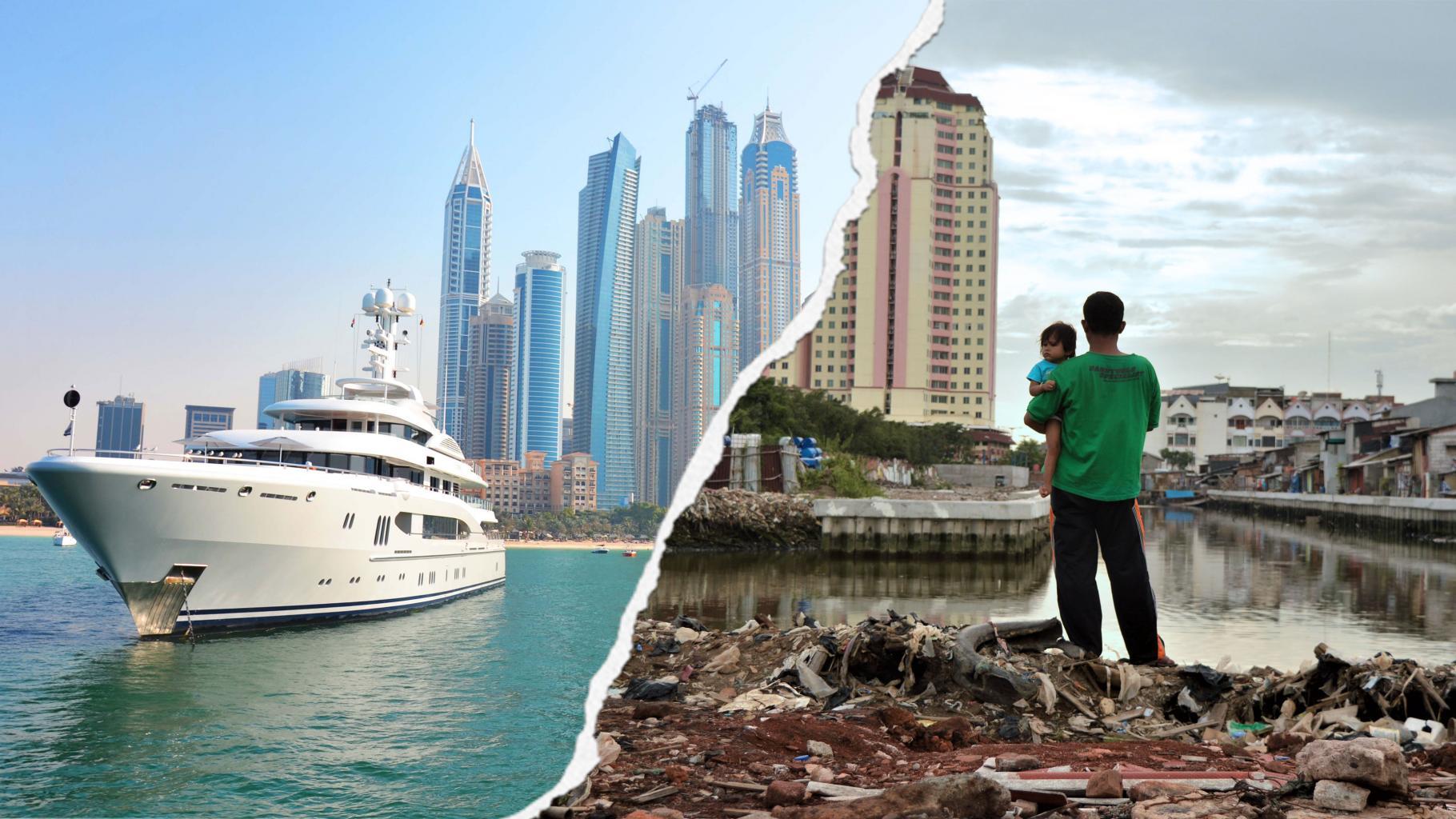 ox_davos2018_startseite_3640x2018px Oxfam-Bericht: 82 Prozent des weltweiten Vermögenswachstums geht ans reichste Prozent der Bevölkerung Entwicklungszusammenarbeit