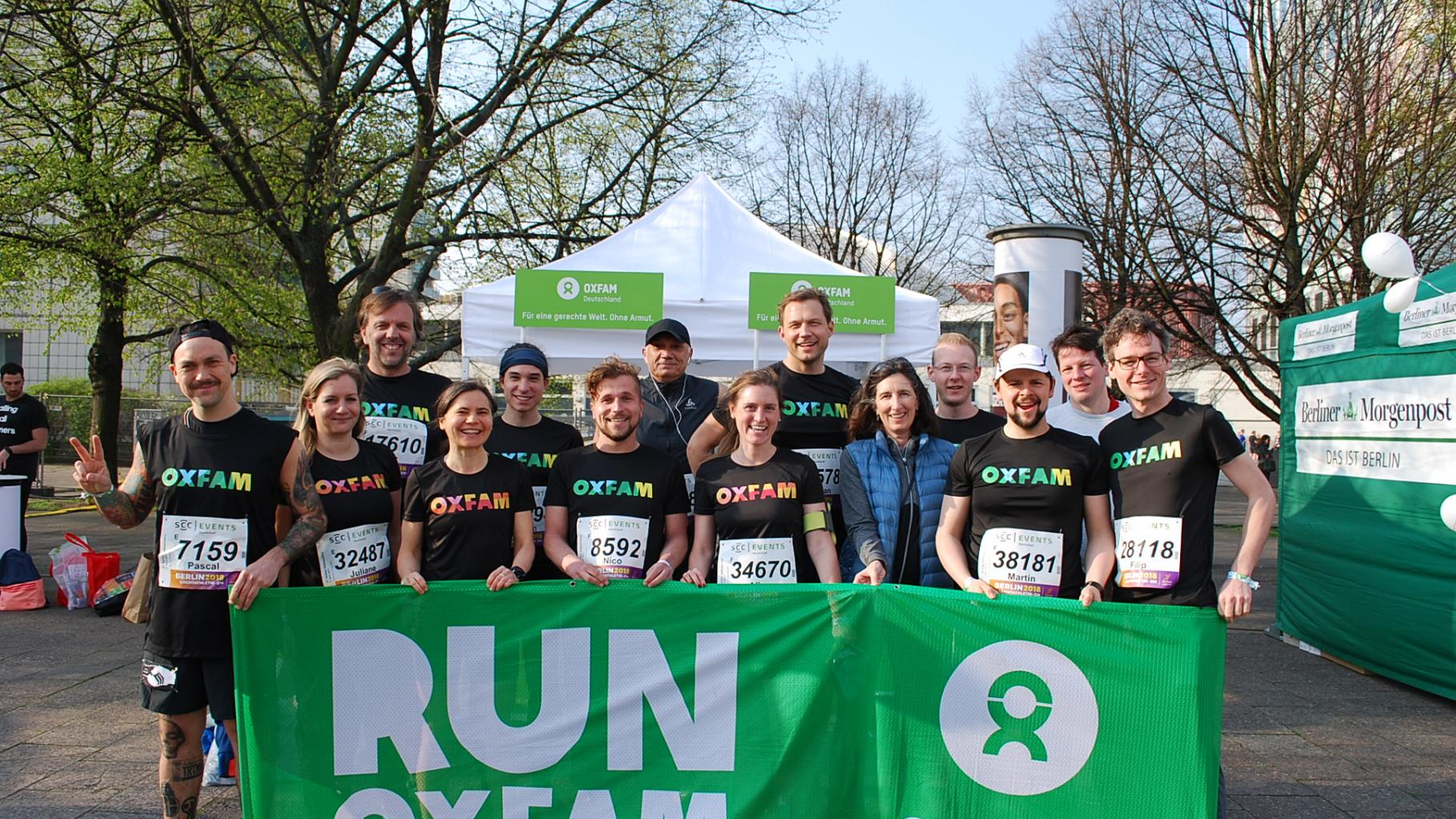 Oxfam Running Team 2017