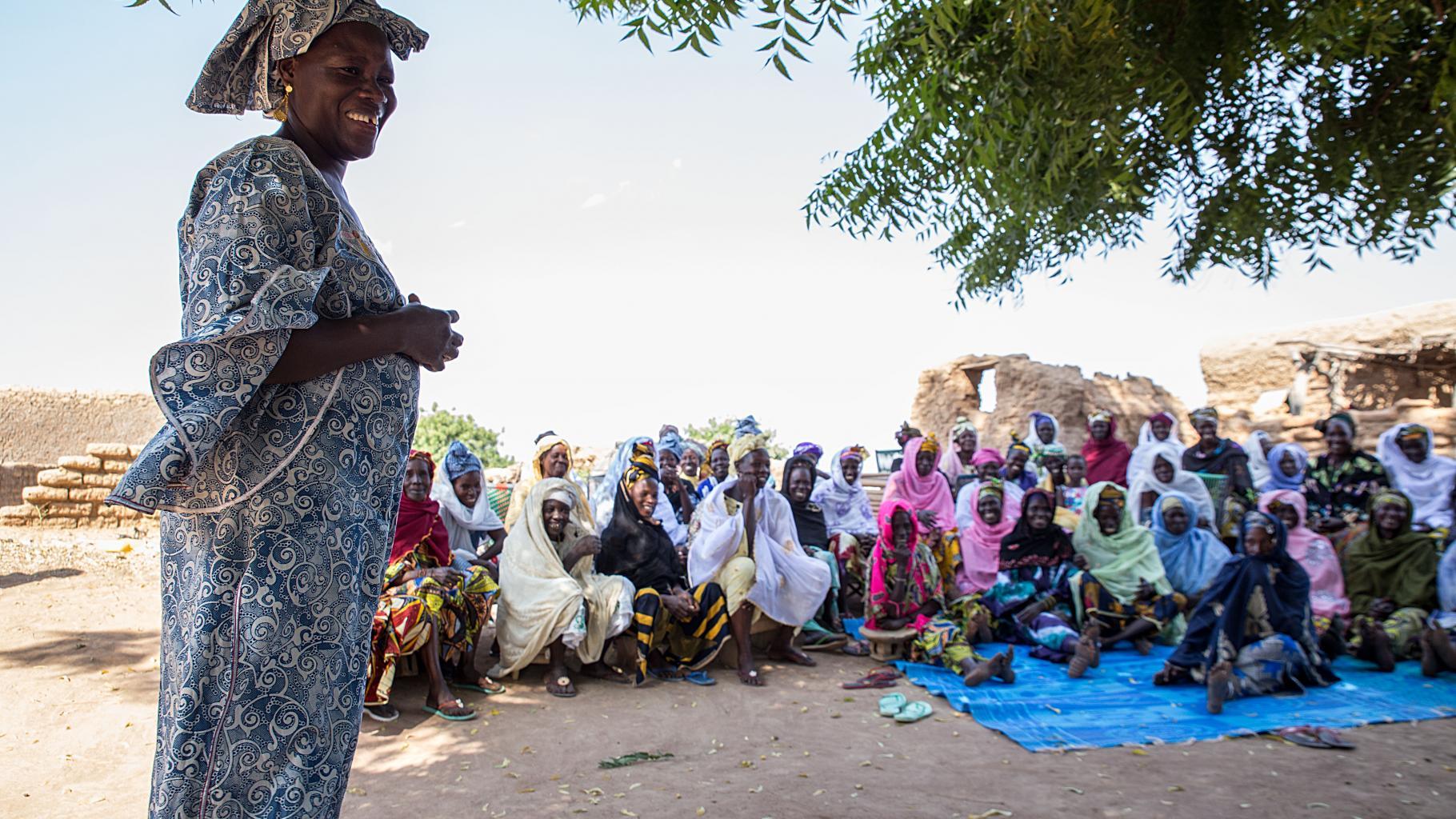 Frauen werden über Folgen weiblicher Beschneidung aufgeklärt
