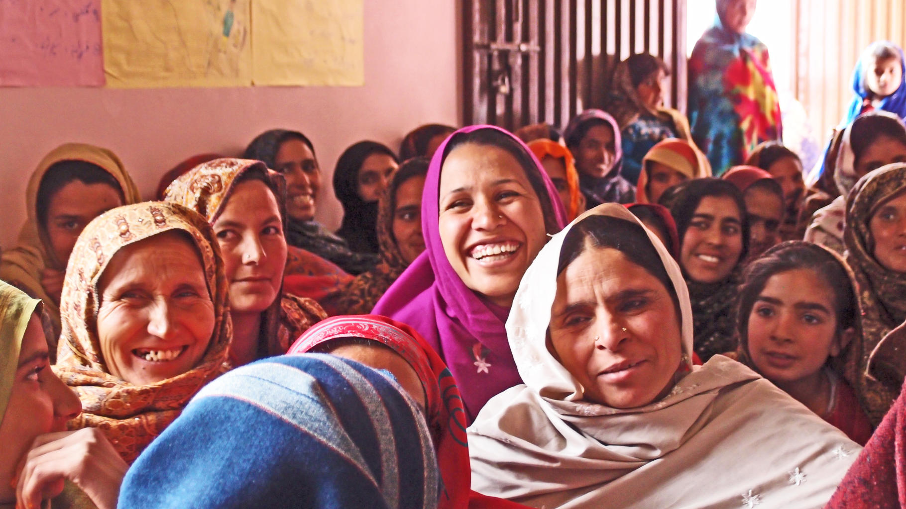 Frauen im Frauenhaus