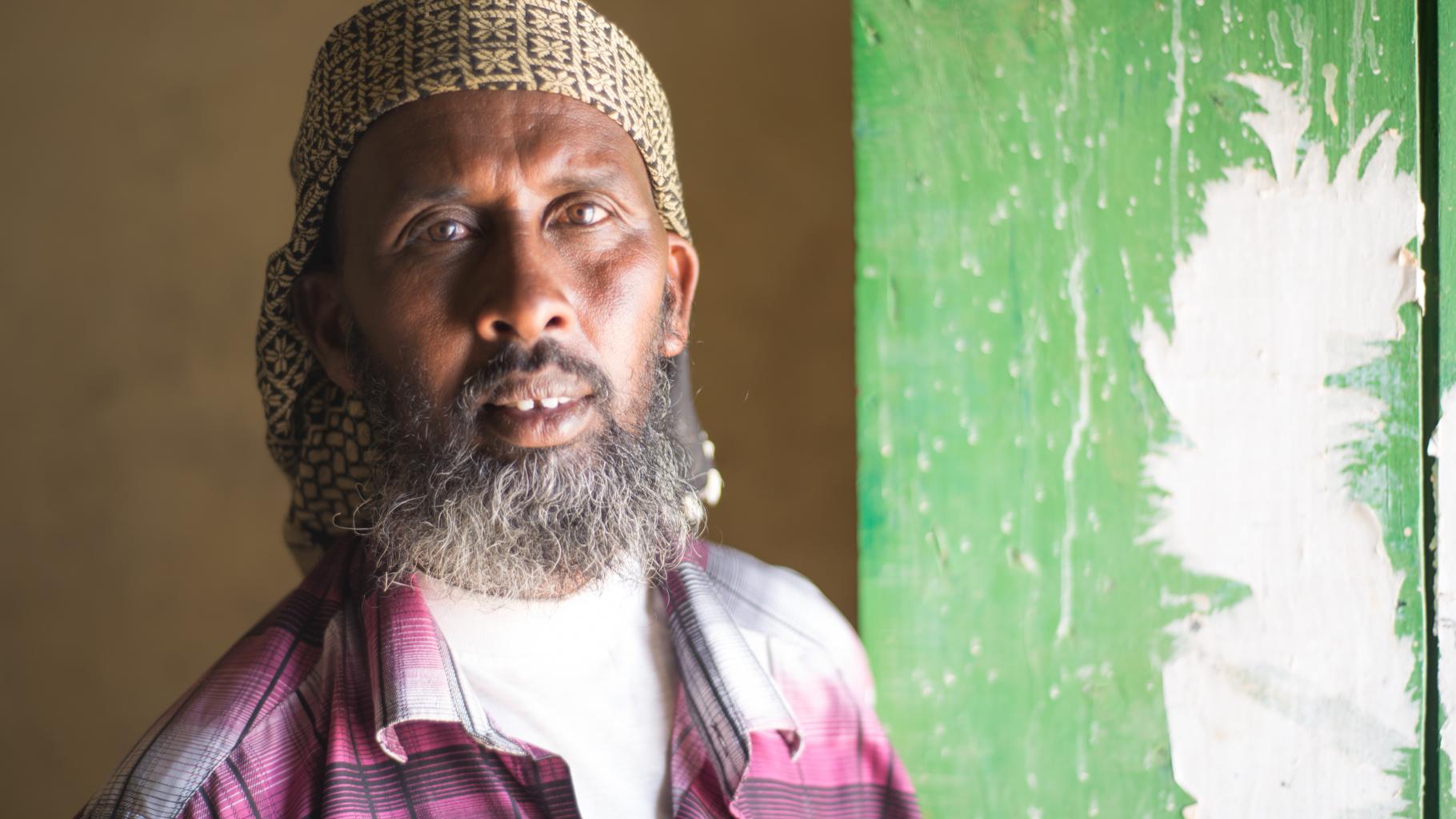 Portraitbild Landarzt Jama Abdi Abdile aus Somaliland