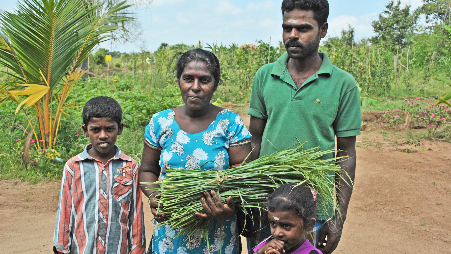 Familie Arulraj Thevi aus Mamadu