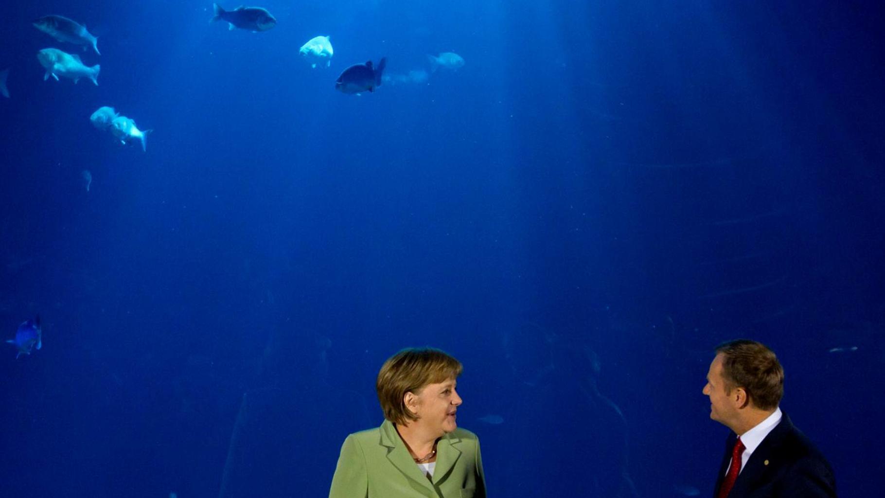 Angela Merkel, Donald Tusk - Mauern beim Klimaschutz