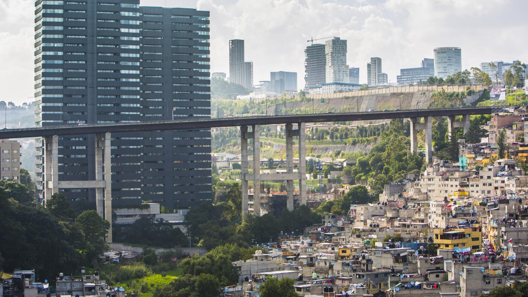 Die globale Ungleichheit spitzt sich zu: Hochhäuser