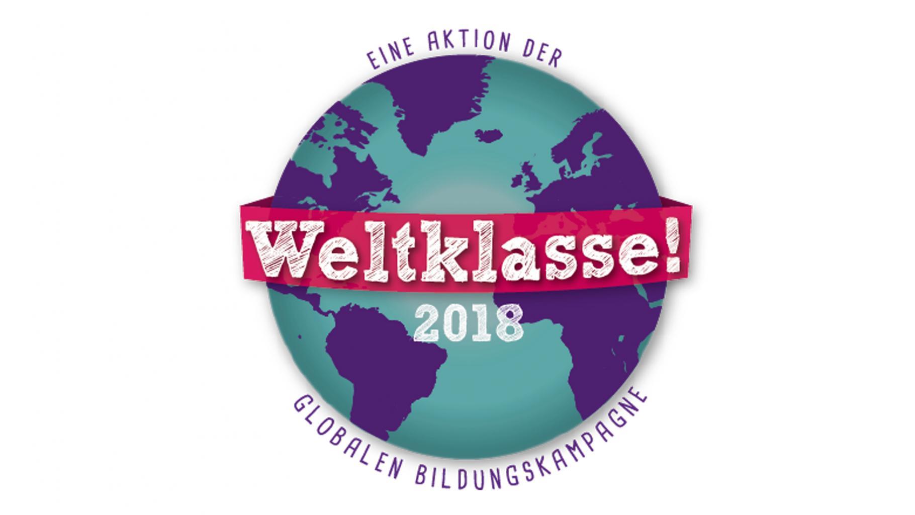Weltklasse-Siegel 2018, GBK, Globale Bildungskampagne, Schulsiegel