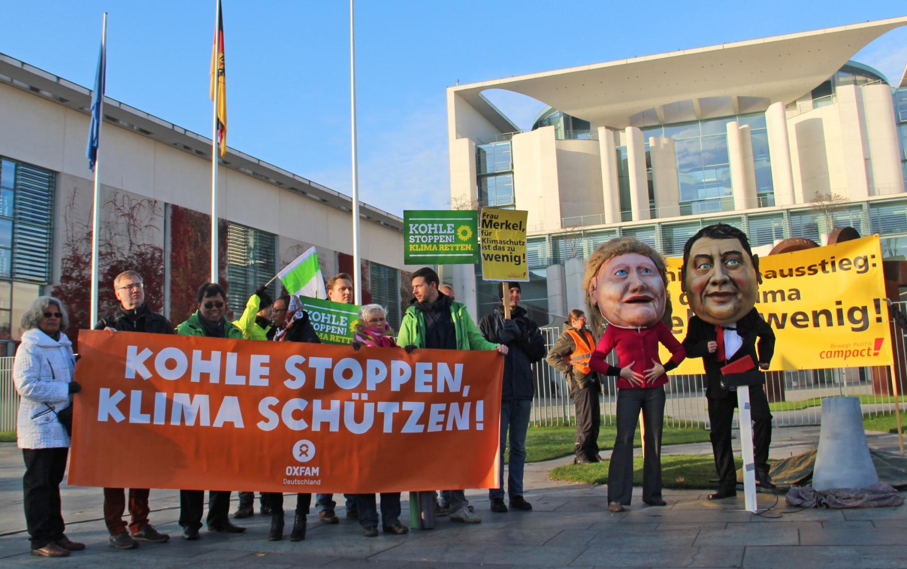 Oxfam fordert den vollständigen Kohleausstieg