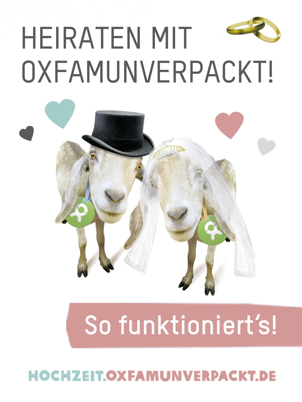 Heiraten mit OxfamUnverpackt